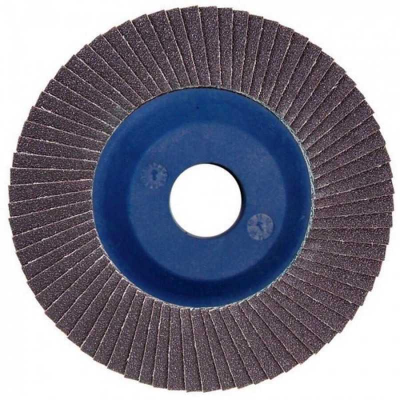 Disco Flap 115x22.23mm Grano 120 Carburo de Silicio / Concreto Makita D-28189