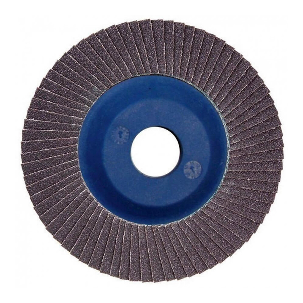 Disco Flap 115x22.23mm Grano 180 Carburo de Silicio / Concreto Makita D-28195