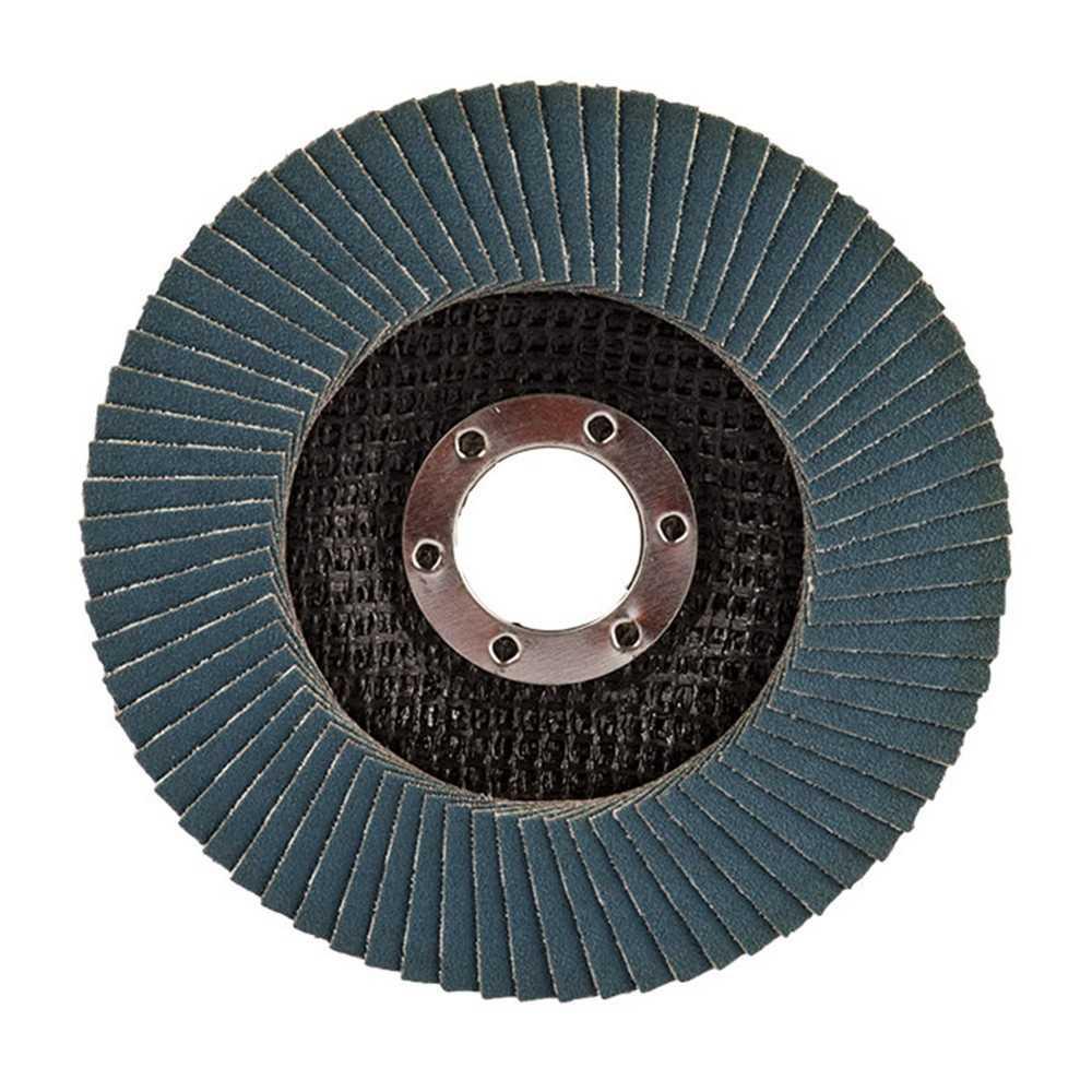 Disco Flap 180x22.23mm Grano 40 Óxido de Aluminio / Metal Ángulo Makita D-63513