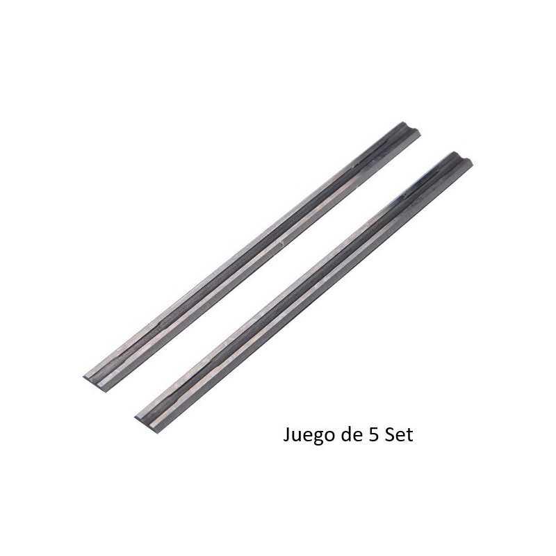 Set Cuchillos Cepillo - 5 Set 82mm Mini - Carburo de Tungsteno Makita D-70839