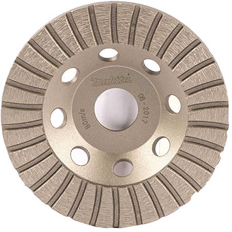 Copa Diamantada Turbo 115 x 22.23MM para Concreto Makita D-62343