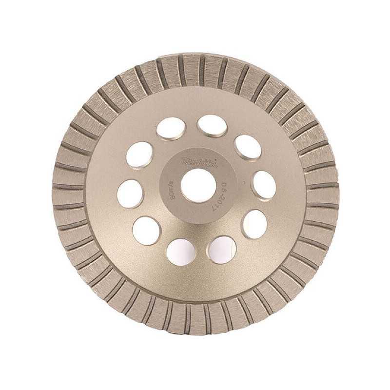 Copa Diamantada Turbo 180 x 22.23MM para Concreto Makita D-62359