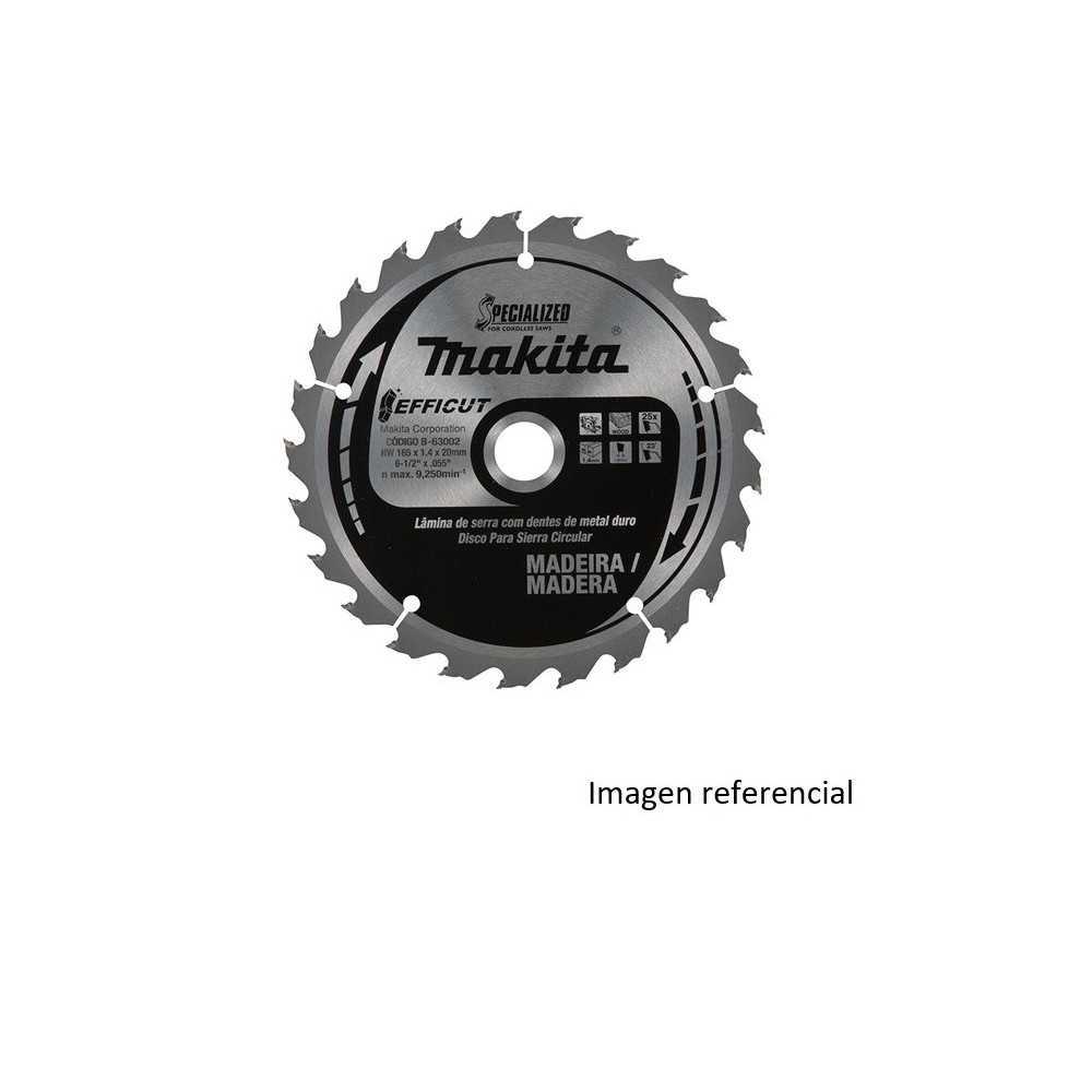 """Disco Sierra Madera EFFICUT 10 1/4""""/ 260x30MM 80D Makita B-67393"""