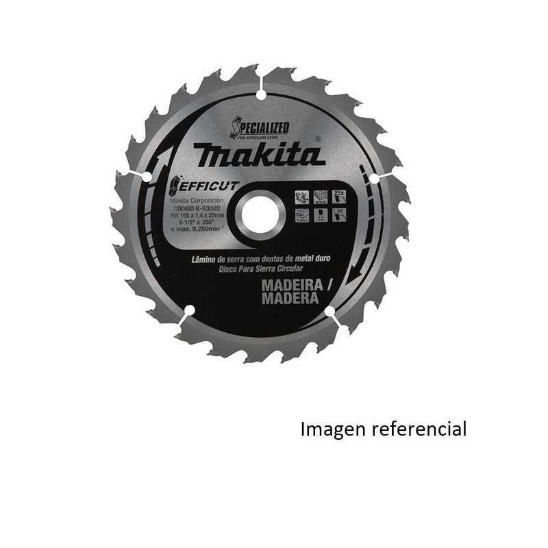 "Disco Sierra Para Madera 10-1/4"" /260x25.4MM 45D Buje 5/8 EFFICUT Makita B-64652"