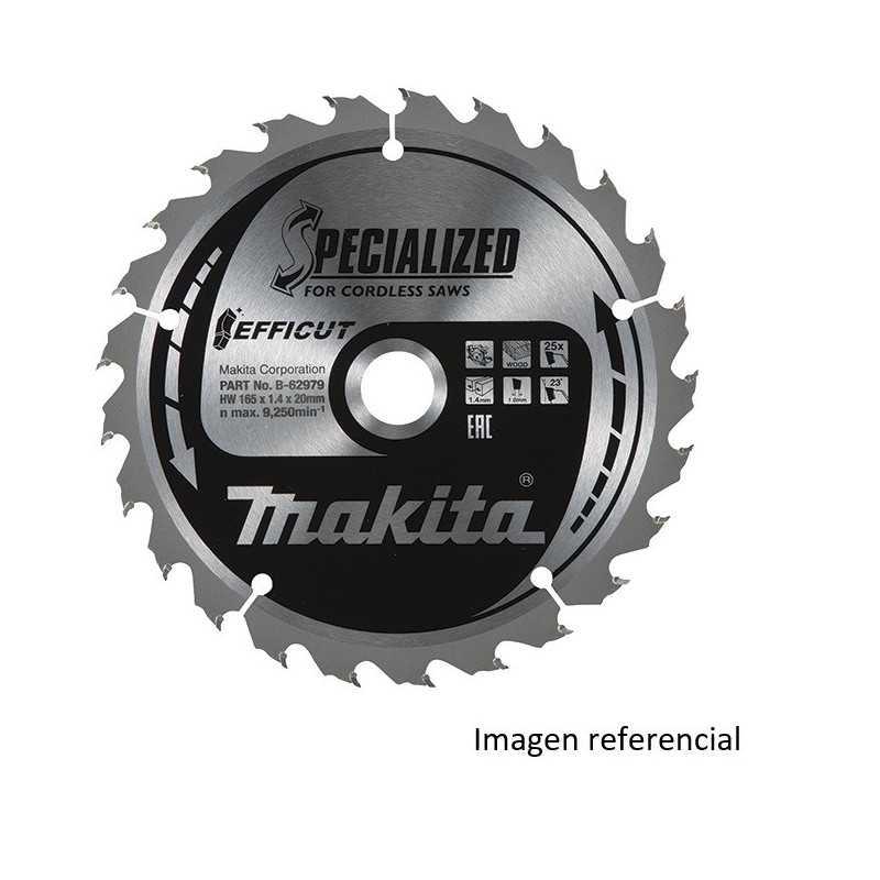 "Disco Corte Metal Para Sierra 6"" /150x20MM 48D EFFICUT Makita B-69412"