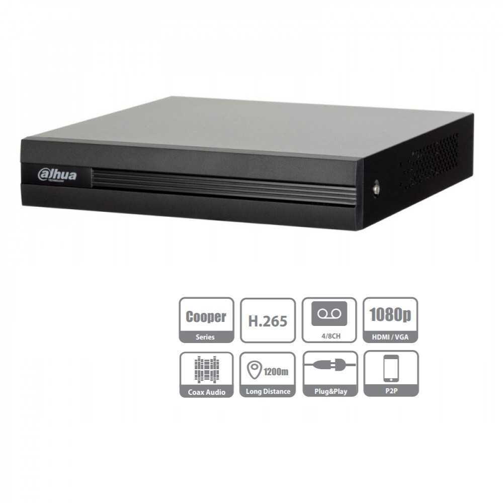XVR Grabador Digital 8 Canales Penta-Hibrido 1080N/720 XVR1B08 Sin HDD Dahua 1202172165