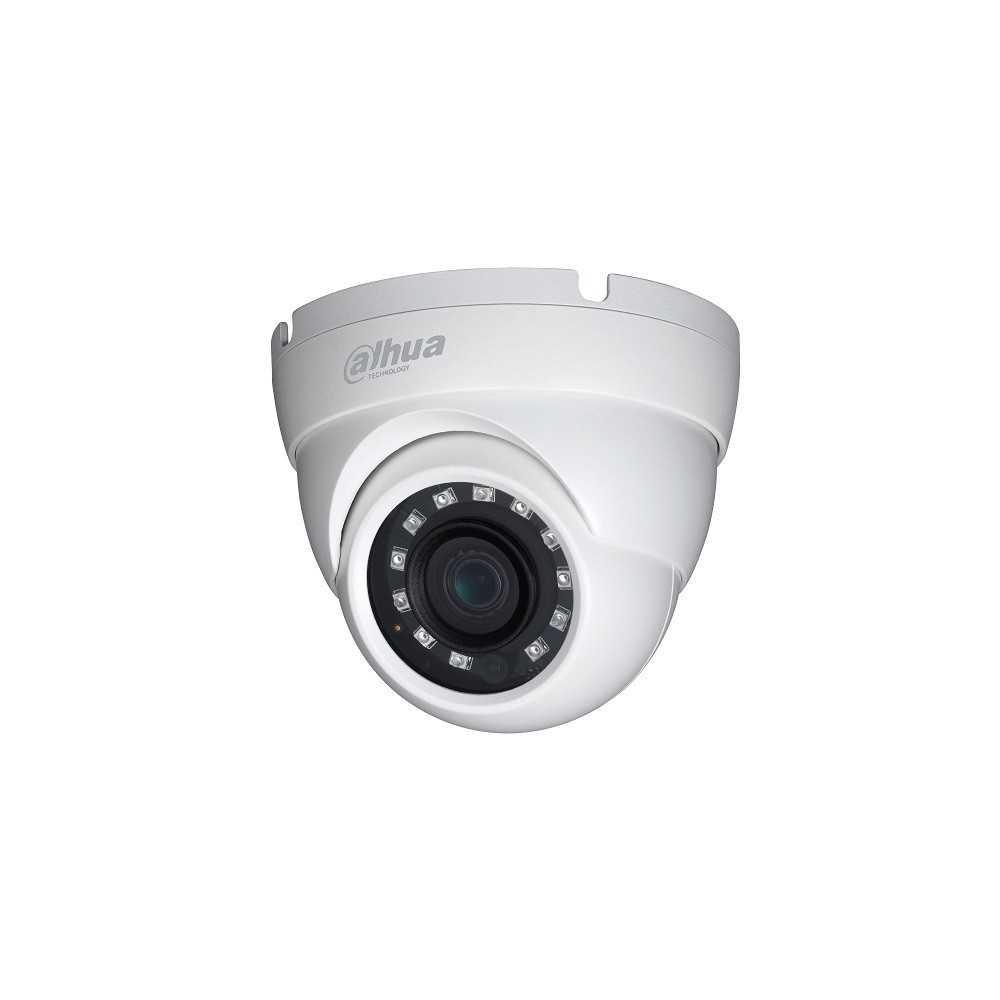 Cámara de Seguridad Domo IR HDCVI 30m 2MP HAC-HDW1200MN-0280B-S4 Eyeball Dahua 1201172317