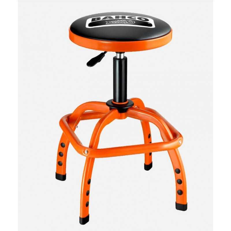 Taburete Giratorio y Ajustable para Taller c/capacidad de 136 kg Bahco BLE305