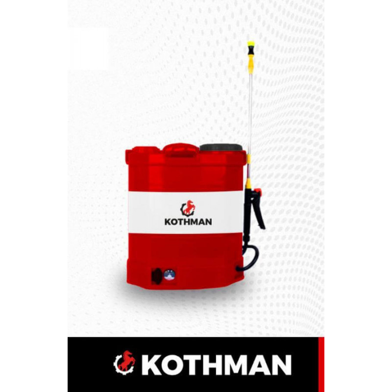 Pulverizador a batería 20 Lts. 12V. 12 Ah. Kothman SY-20L-03