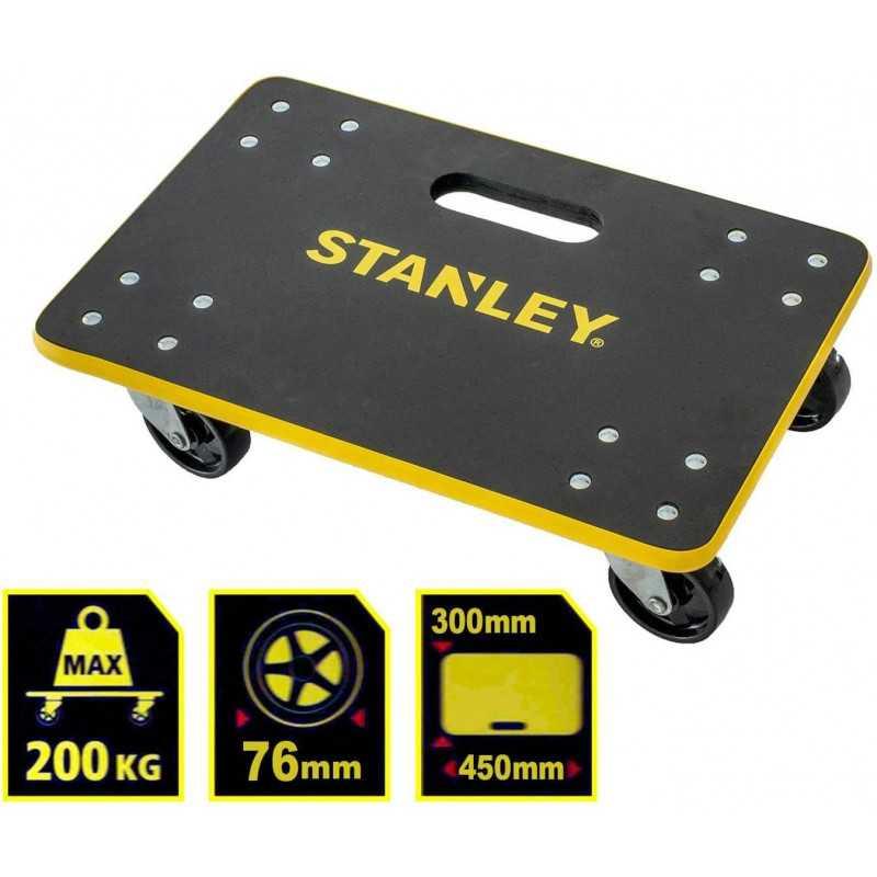 Carro de Carga Pequeño 200Kg 300x450mm MS572 Stanley 571001