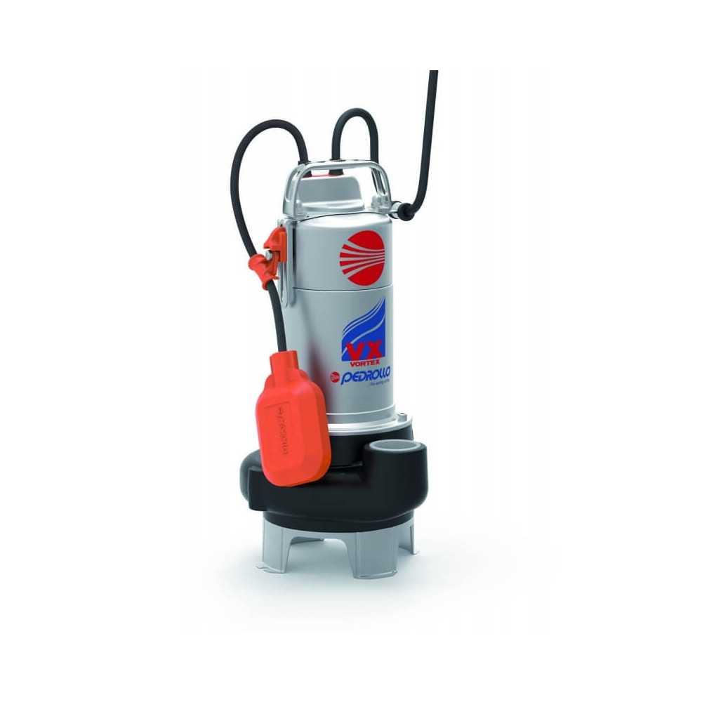 """Bomba de Agua Sumergible 1-1/2"""" 1HP VXM10/35 Para Agua Sucia y cargada Pedrollo 100552"""