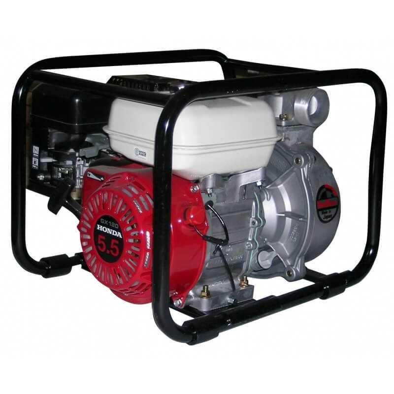"""Motobomba a Gasolina 3""""x3"""" 5.5HP SCR80-HX Para Agua Limpia Daishin-Honda 100095"""