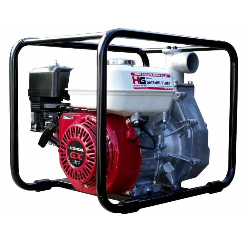 """Motobomba a Gasolina 2""""x2"""" 5.5HP SCH5050HX Para Agua Limpia Daishin-Honda 100097"""