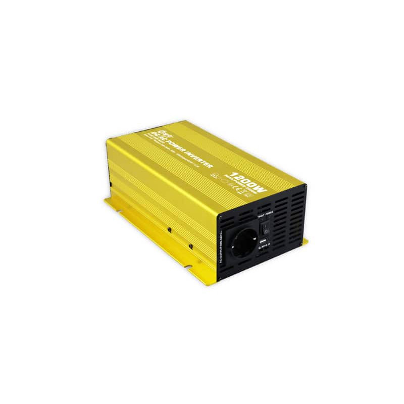 Inversor Onda Pura 12V 1200W Want Energia 34971