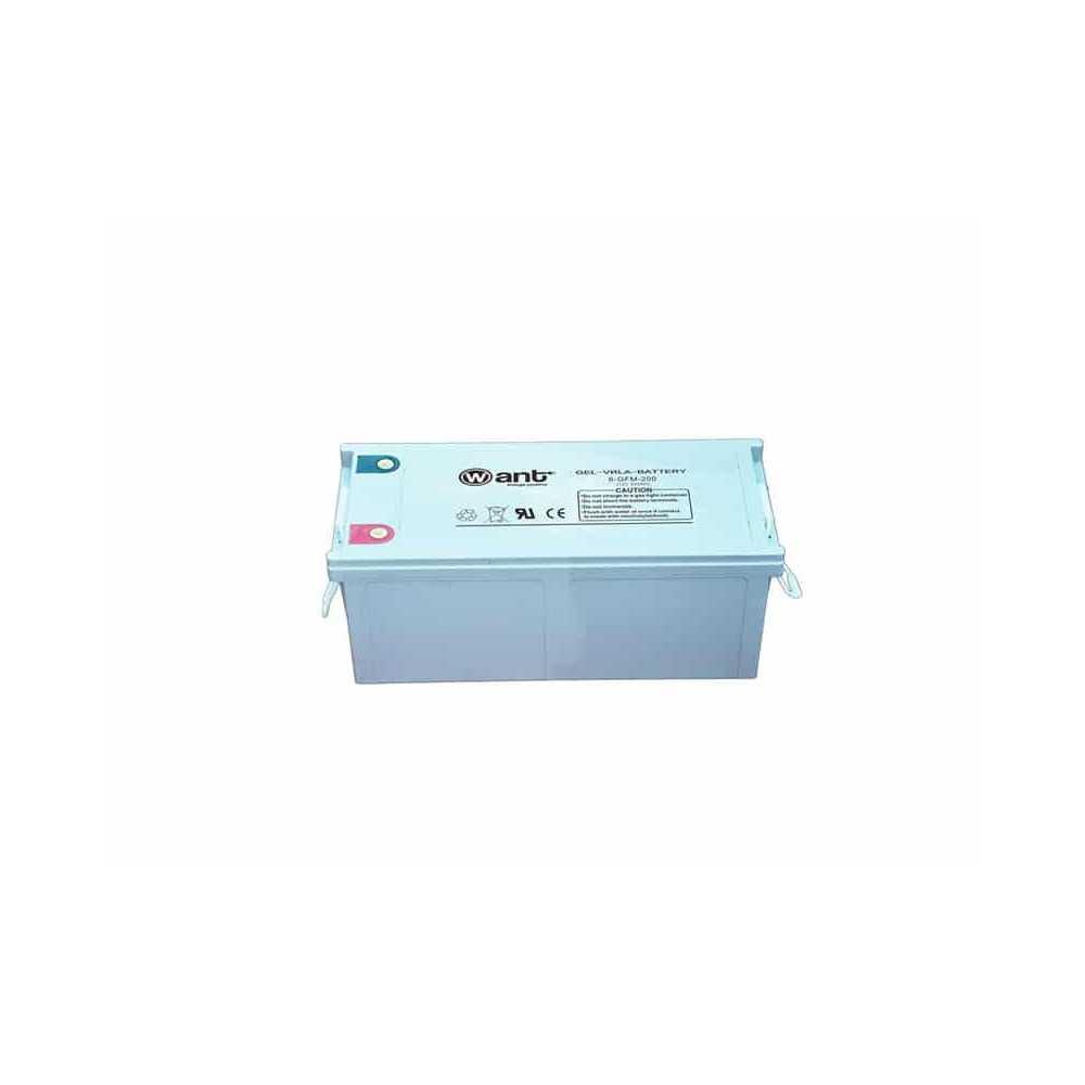 Batería de Gel 200AH 12V GFM Want Energia 34950