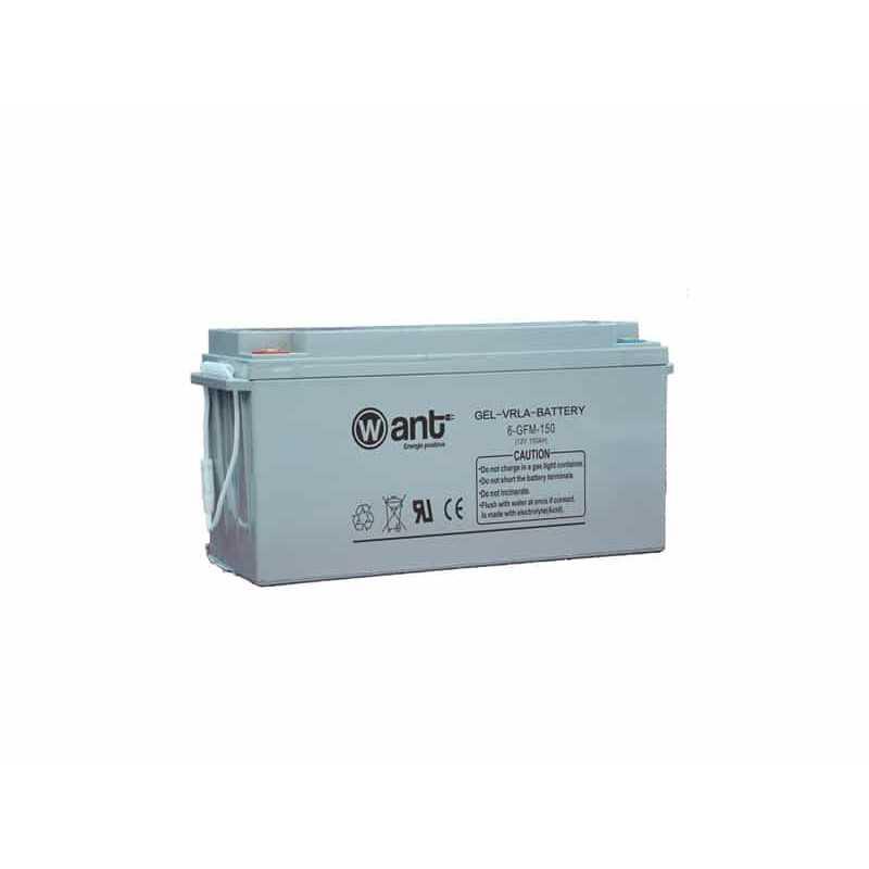 Batería de Gel 150AH 12V GFM Want Energia 34961