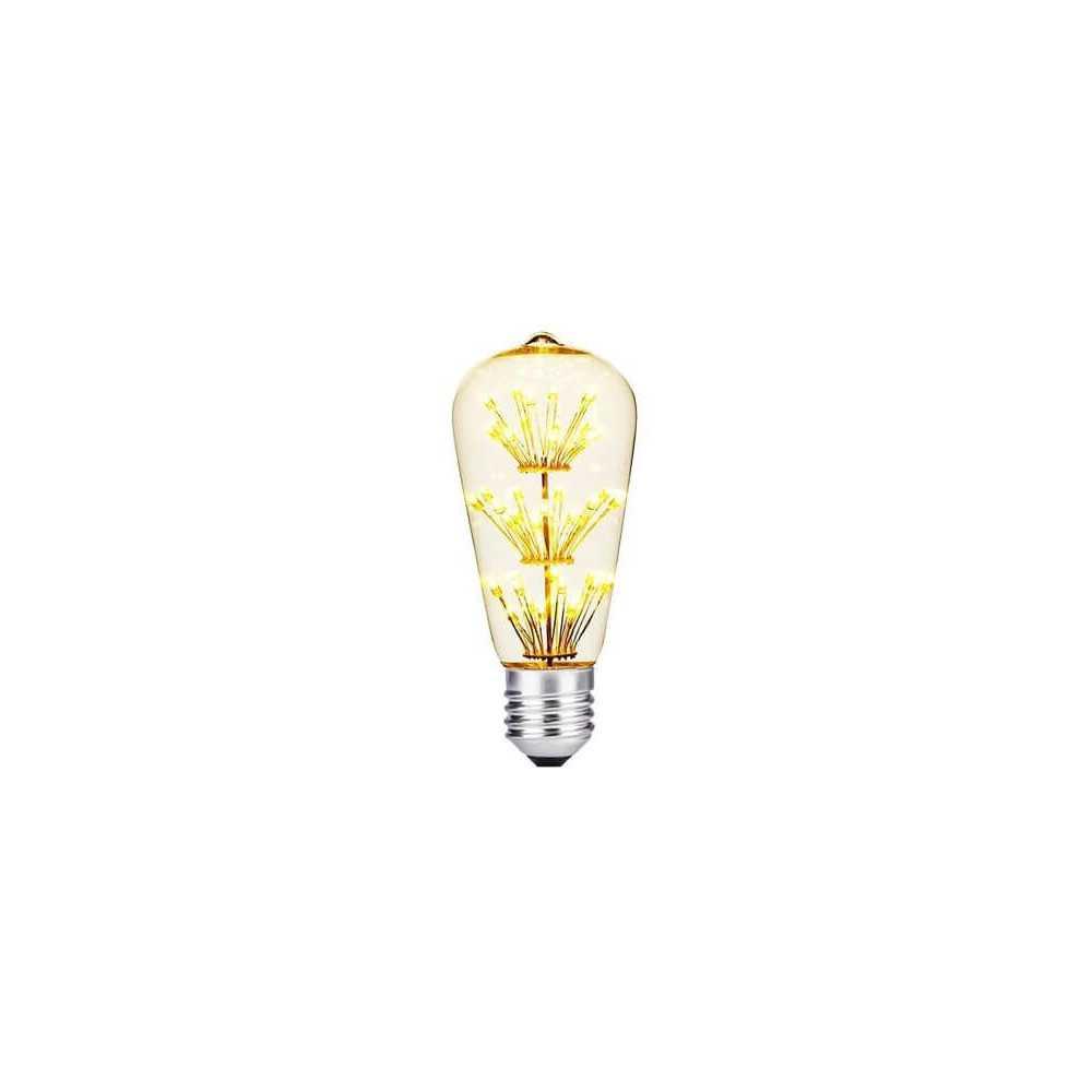Ampolleta Led Decoración ST64 2W RGB Want Energia 34694