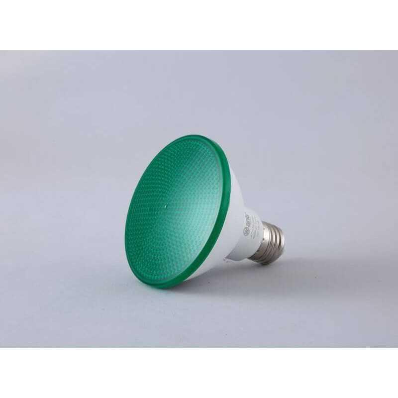 Ampolleta Led PAR30 15W Verde Want Energia 34832