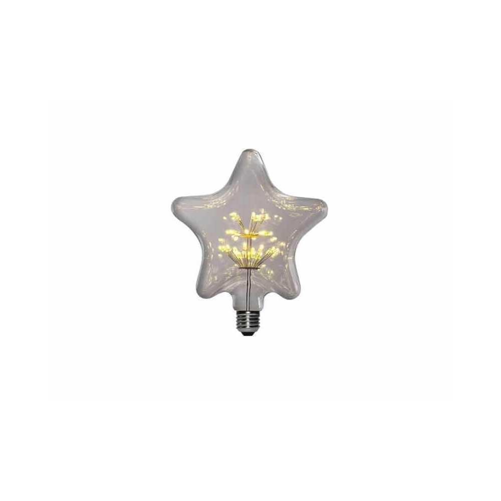 Ampolleta Led E27 Decorativa Pentagrama 1.5W Want Energia 35046