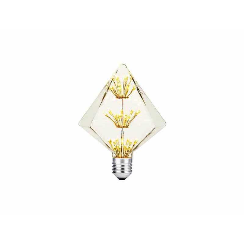 Ampolleta Led E27 Decorativa Diamante 2W Want Energia 35049