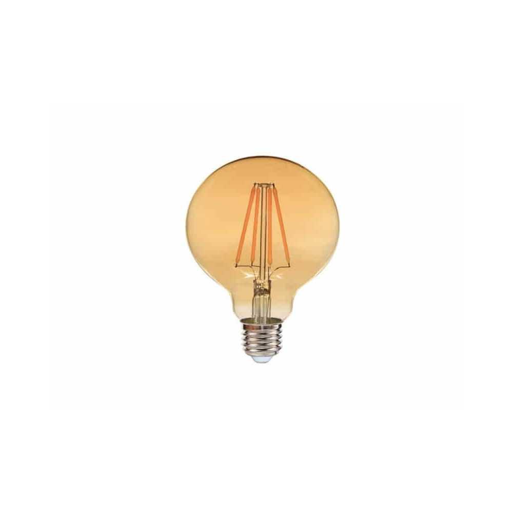 Ampolleta Led Filamento G95 8W E27 Luz cálida Want Energia 35044