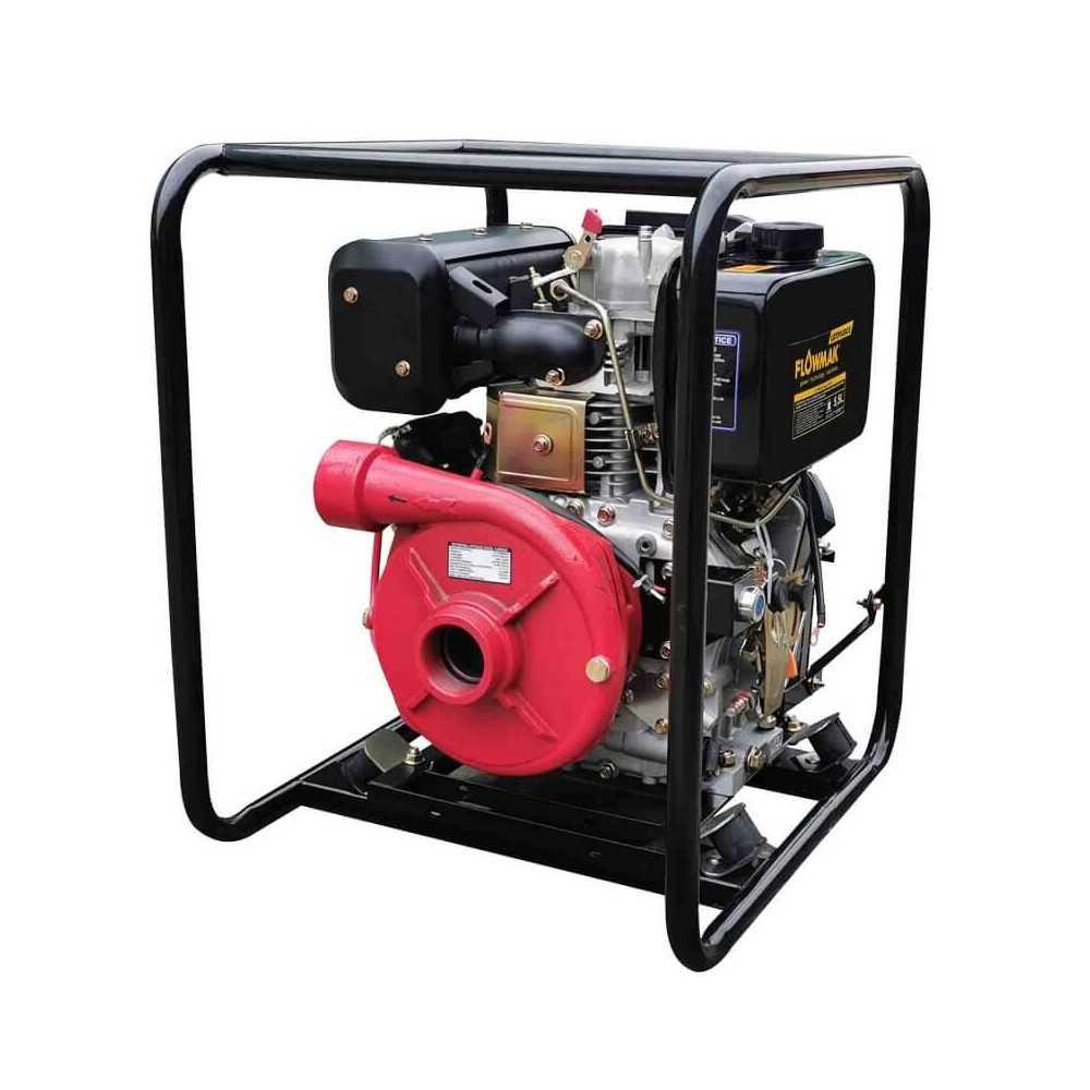 "Motobomba Diesel 2""x2"" Alta presión 500 L/Min 8.6 HP LDTP50DCE Flowmak 109237"