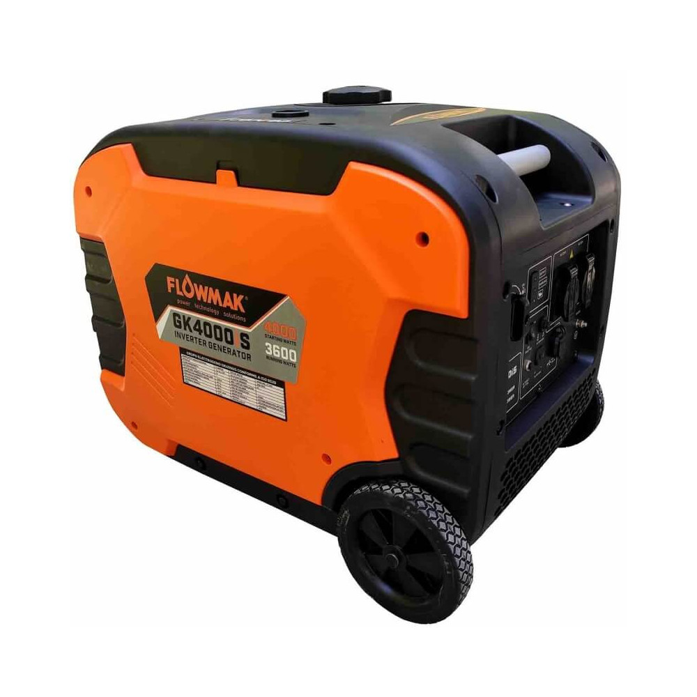 Generador Eléctrico Gasolina 220V 3600W GK4000iS Inverter Insonorizado Flowmak 109254