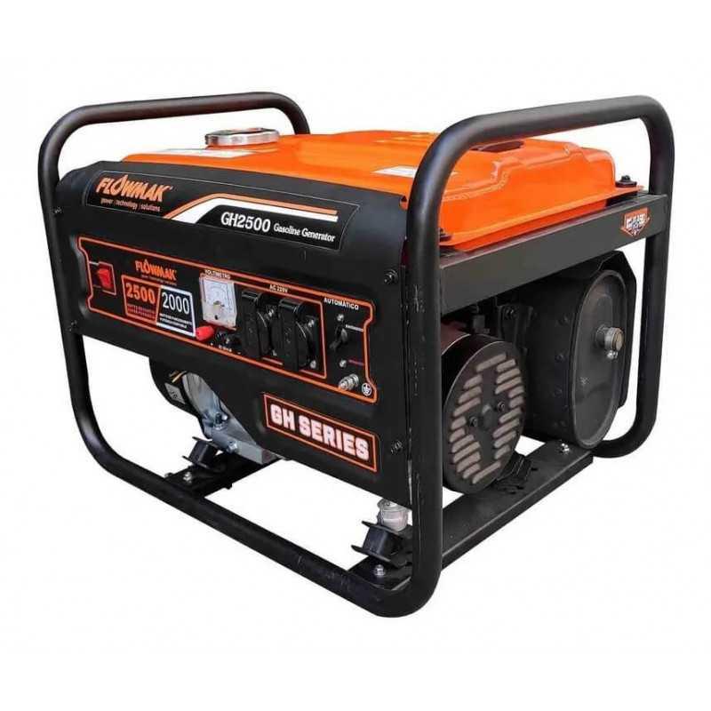 Generador Eléctrico Gasolina 220V 2200W GH2500E Flowmak 109258