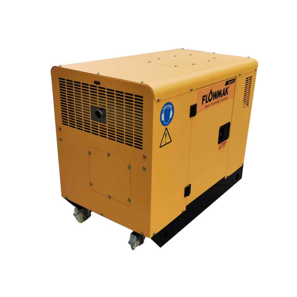 Generador Eléctrico Diésel 380V 10000W LDG12S-3 Flowmak 109233