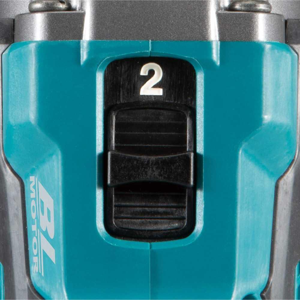 Taladro Atornillador Inalámbrico 13mm XGT 40Vmax BL Motor AFT XPT (Sin Batería Ni Cargador) Makita DF001GZ