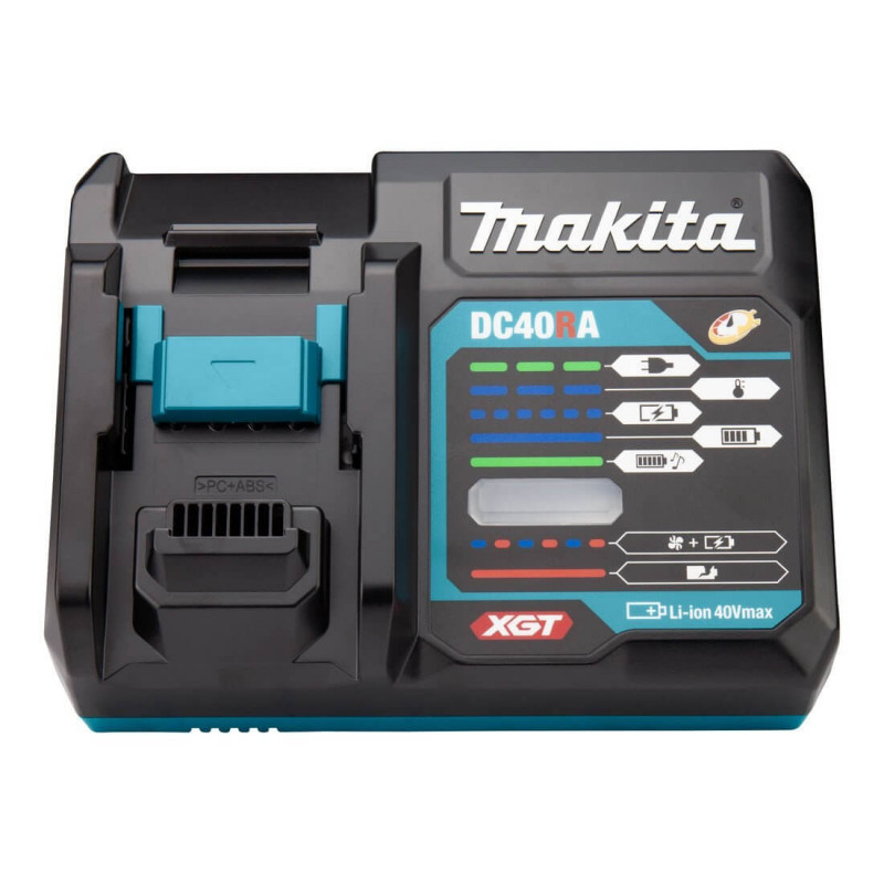 Cargador de Batería Rápido 40Vmáx XGT DC40RA Envoltura Clamshell Makita 191E00-2