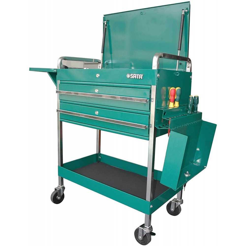 Carro Porta herramientas tipo Gabinete c/2 Cajones Sata ST95118SC