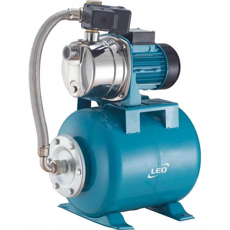 """Bomba de Agua Aumentadora de Presión 1""""x1"""" 1HP/0.8KW XKJ-800SA Leo 103993"""