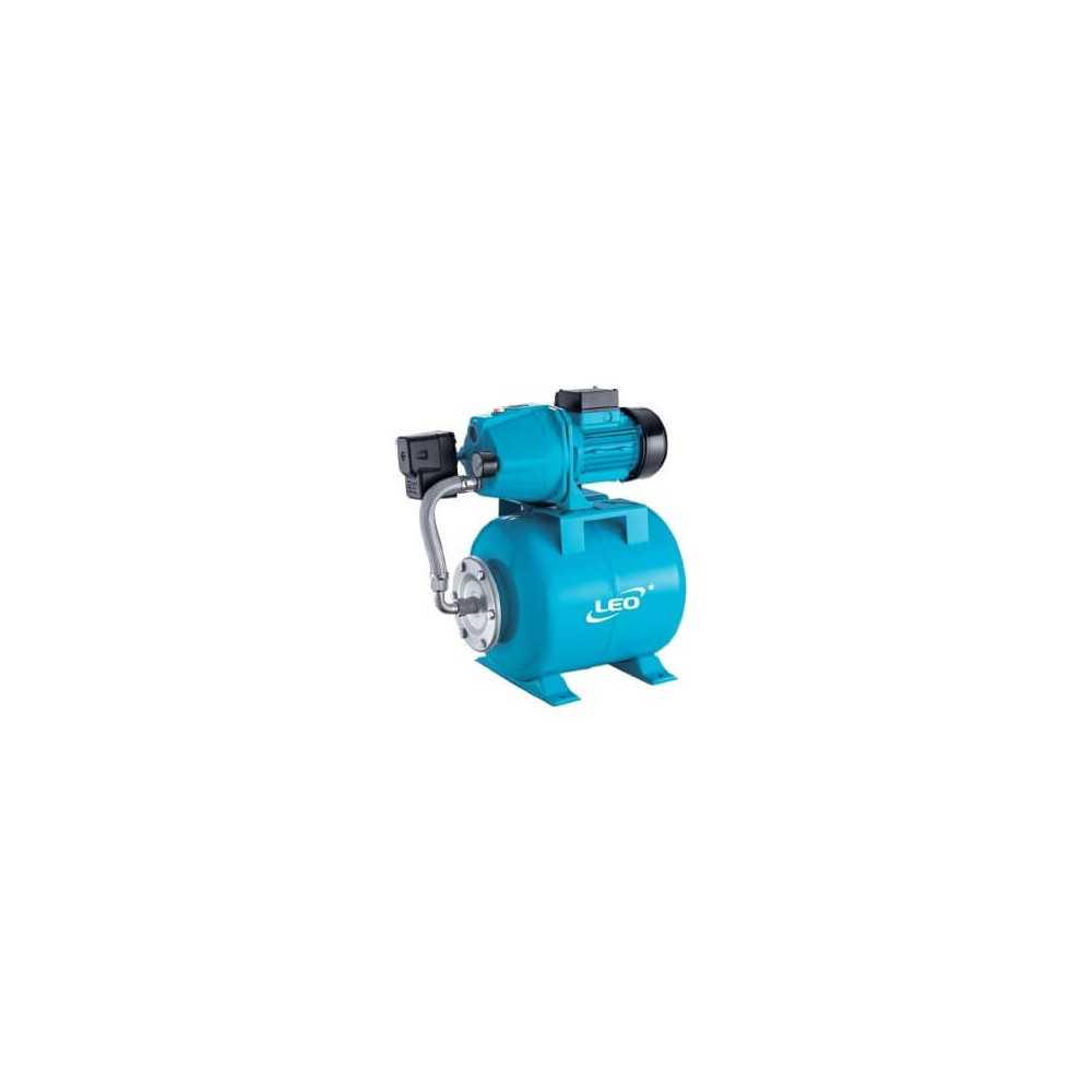 """Bomba de Agua Aumentadora de Presión 1""""x1"""" 1.2HP/0.9KW XKJ-901IA Leo 103994"""