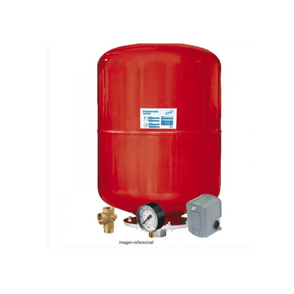 Estanque Hidroneumático H.24LTS + Accesorios Agua Limpia Leo 104272