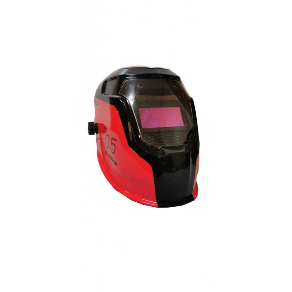 Máscara para soldar Fotosensible 103 x 52 MM Roja Blackweld ADF1000BW-R