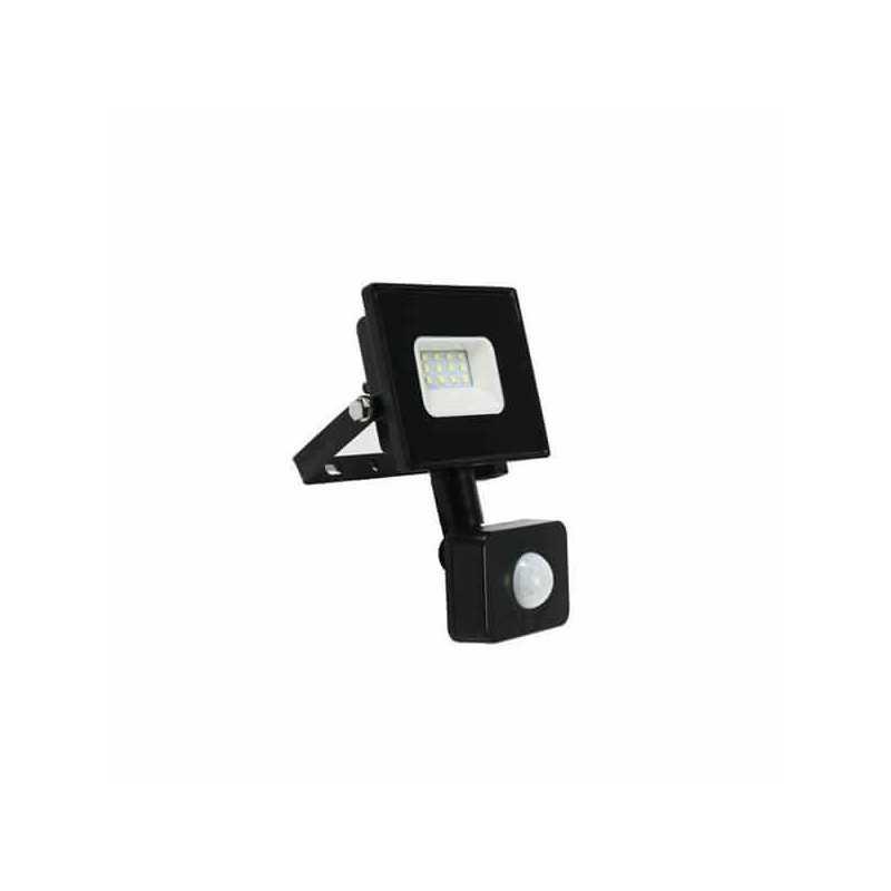 Foco Led Proyector de Área Con Sensor 10W SMD Street 3000K Cálido Want Energia 35285