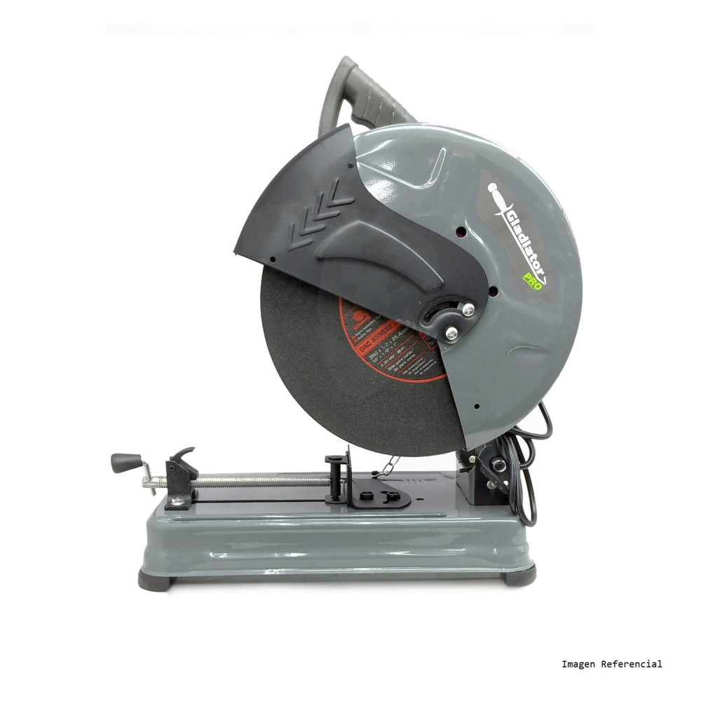 "Tronzadora Sensitiva 14"" (350mm) 2500W CS 814/4/220 PLUS Gladiator MI-GLA-053790"