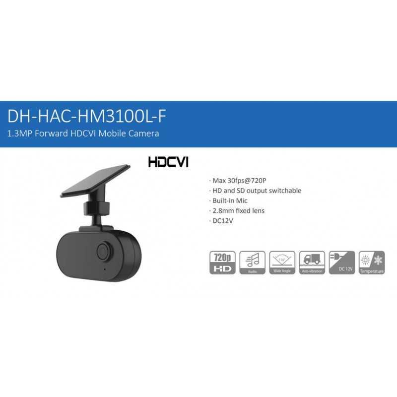 Cámara de Seguridad Móvil HDCVI 1.3MP HAC-HM3100LN-F-0210B Dahua 1201172261
