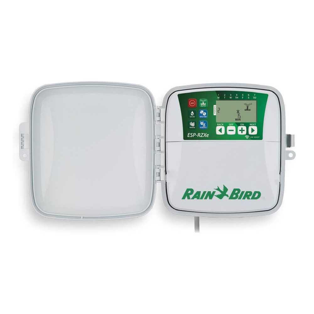 Programador de Riego ESP RZXe 4 Estaciones Exterior Rain Bird 304075