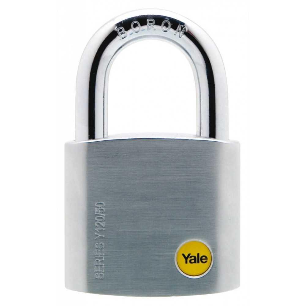 Candado 40mm Y120 P5 Borón Alta Seguridad Yale 126601