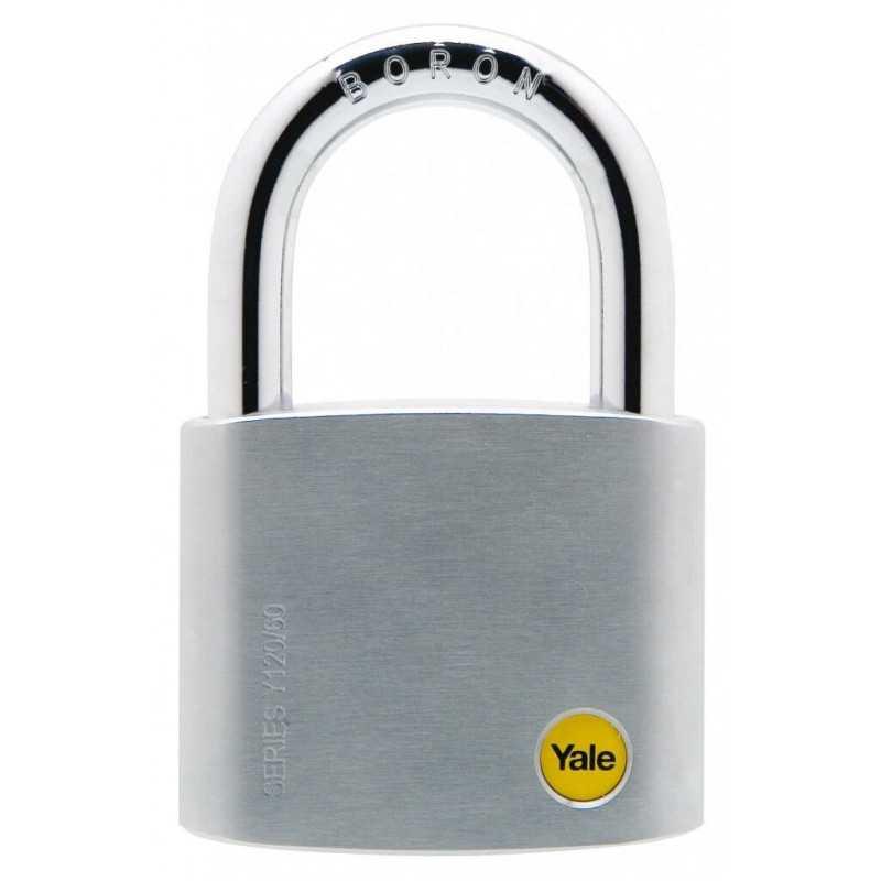 Candado 60mm Y120 P6 Borón Alta Seguridad Yale 126661