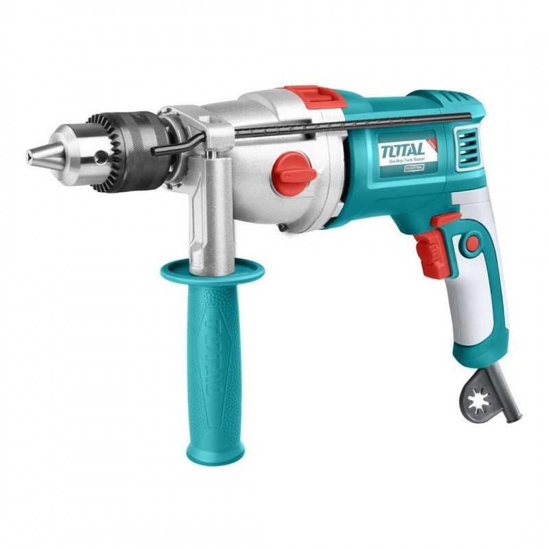 """Taladro Percutor 1050w 5/8"""" (16mm) Total Tools TG111165"""