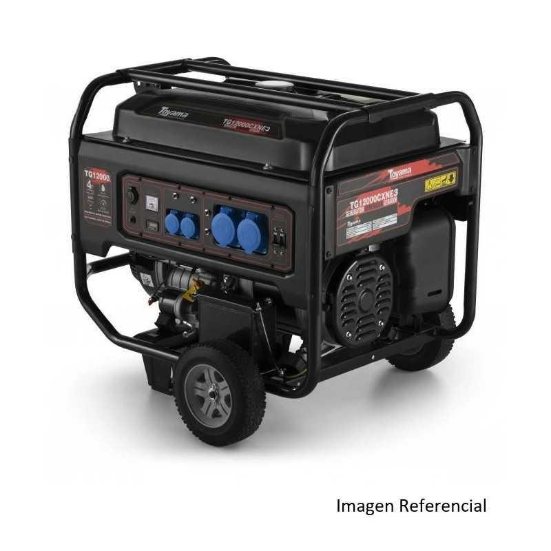 Generador Eléctrico a Gasolina 10.5 kW/ kVA 20 HP Monofásico TG12000CXNE Toyama 201-010C