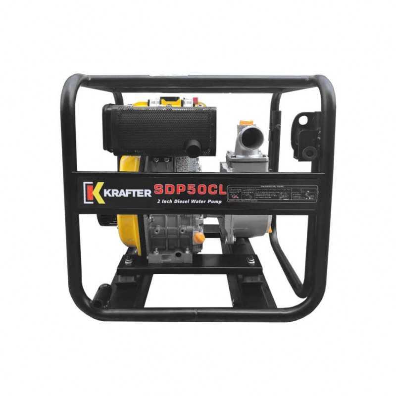 "Motobomba de caudal 2""x2"" a Diesel Partida Manual Krafter SDP50CL - Caudal"
