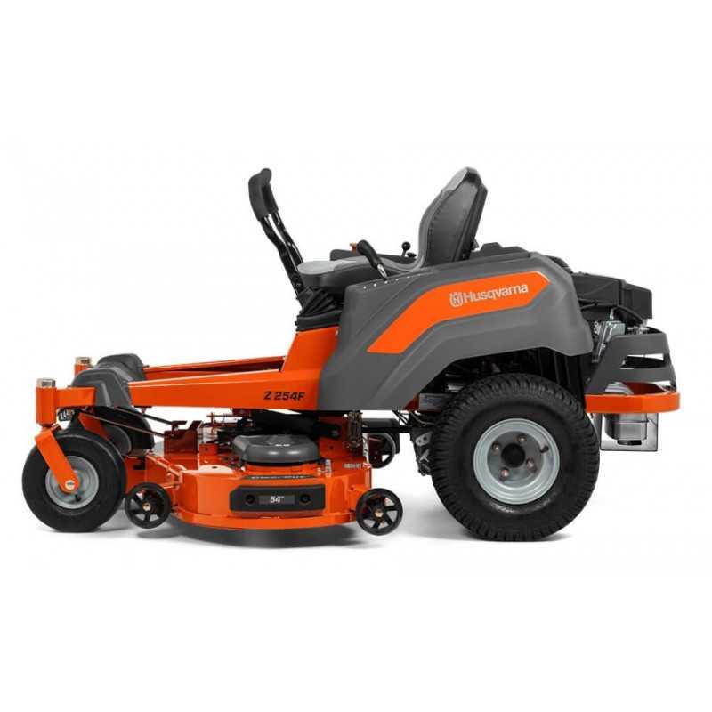 Tractor cortacésped a Gasolina 24 HP 137 cm Giro Zero Z254F Husqvarna 970 4590 01