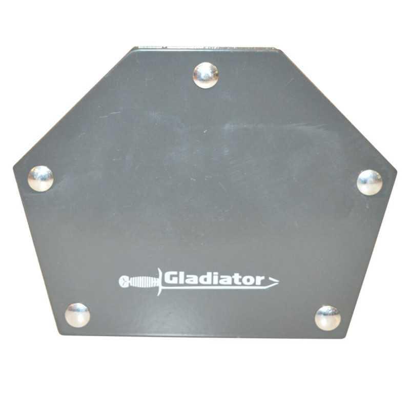 "Escuadra Magnética  4"" 25 kg ESQ625 Gladiator MI-GLA-054281"