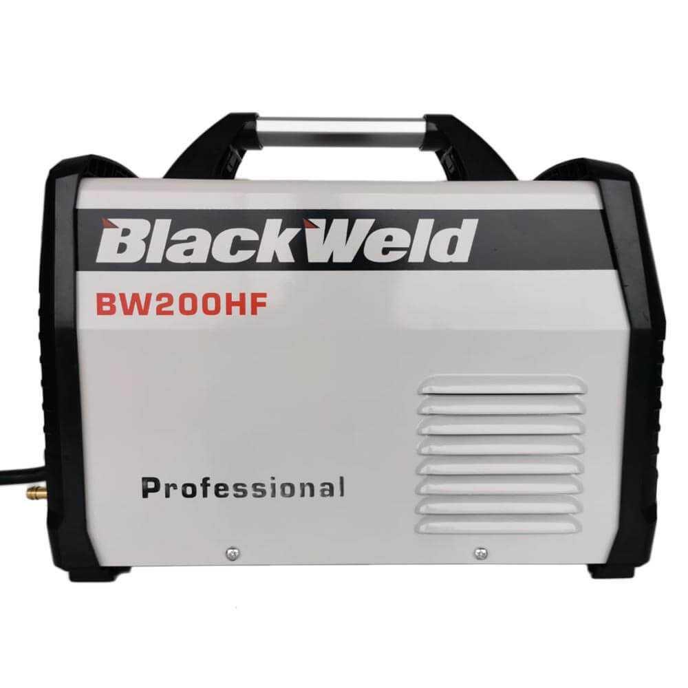 Soldadora Inverter 200A TIG HF/MMA Blackweld BW200HF