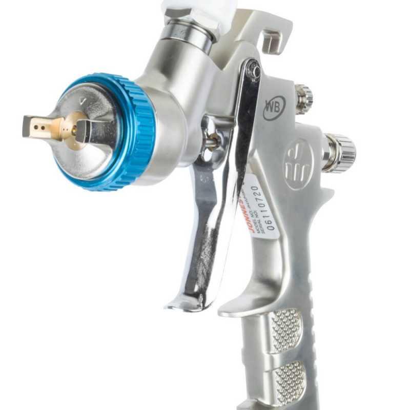 Pistola de Pintar Boquilla 1.3mm 0.6 lts JA-LVLP-0303W Jonnesway MI-JON-40005