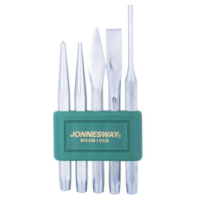 Juego de Cinceles y Puntos M64M105S 5 Piezas Jonnesway MI-JON-45070